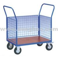 Small movable mesh logistics carts huge bearing for sale