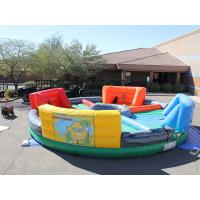 Wholesale Outdoor Inflatable Interactive Games , inflatable hungry hippo game hippo chow down from china suppliers