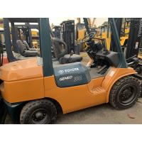 Wholesale Original Color Second Hand Forklifts , Used Toyota 3 Ton Forklift 5m Mast from china suppliers