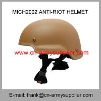 Buy cheap Wholesale Cheap China Army Tan Mich2002 Police Military Security Anti-Riot Helmet from wholesalers