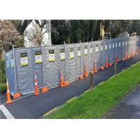 Wholesale Mobile Noise Barriers 30dB Construction Insulated and Absorption 4'x12' blanket size from china suppliers