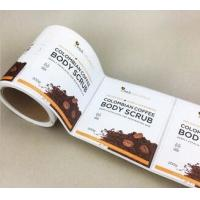 Wholesale Round Shape Synthetic Paper Sticker Blank Printing With Customized Size from china suppliers