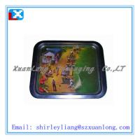 Wholesale top quality promotion serving tin tray from china suppliers