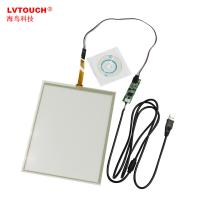 "Wholesale 17"" wide 4 Wire Resistive Touch Panel for Kisok, POS, PC, Terminal, LCD Monitor from china suppliers"