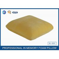 Wholesale Adults Healthy Memory Foam Throw Pillow / Back Cushion For Car / Home And Office from china suppliers