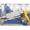 Automatic PE PP Film Washing Line 220v / 380v / 480v Friction Washer for sale