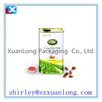 Quality Rectangular edible cooking oil can for sale