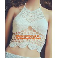 China high quantity handmade swimwear bikini botton, brazilian Bikini botton, Women crochet Swimsuit, Bathing Suit Swimwear on sale