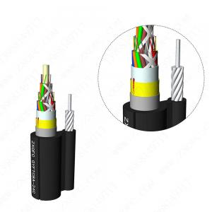 Wholesale GYFTC8A Galvanized Stranded Steel Armored Optic Fiber Cable from china suppliers