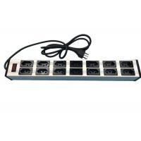 """Wholesale Electrical 14 Way 19"""" Brazil Multi Socket Extension Cord With Switch 10 Amp 250V from china suppliers"""