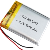 Wholesale Custom made PL803040 900mAh 3.7 V Lithium Ion Polymer Battery for sale from china suppliers