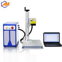 Wholesale 20W fiber laser engraving marking machine for metal and plastic from china suppliers