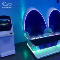 Wholesale 3 Seats 9D VR Simulator 360 Egg Cinema VR Chair Arcade Game Machine from china suppliers