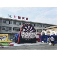 Wholesale Interactive Party Game Inflatable Dart Board For Football Soccer Shooting from china suppliers