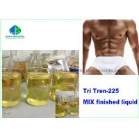 China Injectable Anabolic Steroids  Yellow 10ml oil Finished Liquid Trenbolone Acetate Tri Tren 225mg/Ml For Bodybuilding for sale