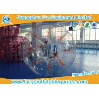 Wholesale Clear 1.5M Conventional Human Bumper Bubble Ball High Temperature Welding from china suppliers