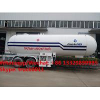 Factory sale best price 40m3 bulk propane gas trailer, HOT SALE! 40,000Liters road transported lpg gas transported tank for sale