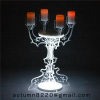 Wholesale CH (22) home floor standing acrylic candle holders from china suppliers