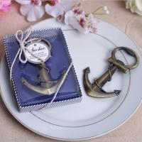 Anchor Nautical Theme Wedding Favor Bottle Openers for sale