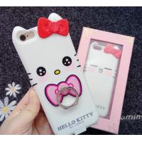Wholesale Iphone 7 Apple Phone Power Bank Case  Hello Kitty With Ring Holder 4000 Mah from china suppliers