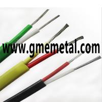 China Fiberglass Braided Heat Resistant Electrical Wire , Silicone Rubber Insulated Cable on sale