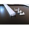 2018 New Custom Led Bendable Aluminum Profile Case Strip Led Aluminum Extrusion Light Flexible Channel for sale