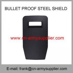 Buy cheap Wholesale Cheap China Army Nijiiia Steel Police Military Bulletproof Shield from wholesalers