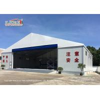 Wholesale White Color Permanent Relocatable Aircraft Hangar 25 X 50 Side Hard Wall from china suppliers