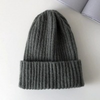 Wholesale Candy Colors Winter Hat Women Knitted Hat Warm Soft Trendy Hat Kpop Style Wool Beanie from china suppliers