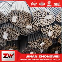Buy cheap Forging and Casting Grinding Rod For Mining Low Breakage Long Time Work 50mm from wholesalers