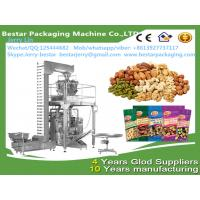 Wholesale Automatic peanut pistachiosun flower seed salmond cashew nut backstick pillow bag packing machine Bestar packaging from china suppliers