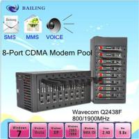 Wholesale USB 8 ports GSM/GPRS SMS modem pool (wavecom/siemens module ) from china suppliers