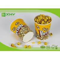 Wholesale 24oz to 170oz Paper Popcorn Buckets 100% food grade , disposable paper popcorn cup and bucket from china suppliers