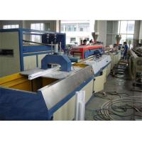 Wholesale Double Screw Design Wpc Extrusion Machine / Wood Plastic Composite Production Line from china suppliers