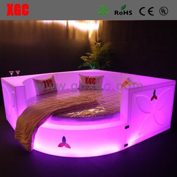 fancy bedroom furniture sets led lighting bed of litfurniture