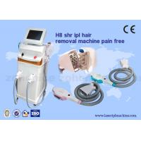 Quality Salon 3000W SHR Hair Removal Machine With 360 Magneto Optical System for sale