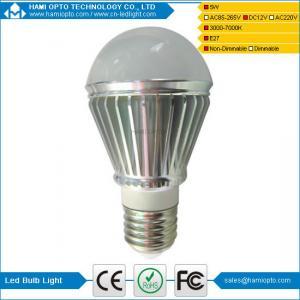 China China manufacturer E27 led bulb lamp 5W Rechargeable solar led bulb light on sale