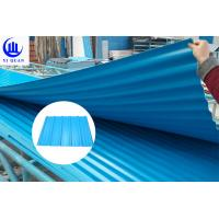 Wholesale Fire Resistance PVC Roof Tiles Sheet For Warehouse , Customize Length from china suppliers