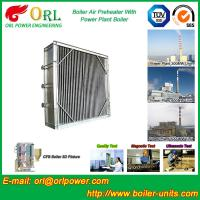 Quality Water Proof Plate Air Preheater / Combustion Air Preheater Hot Water for sale
