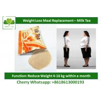 Wholesale Slimming Milk Tea Natural Meal Replacement Shakes Healthy Protein Shakes For Weight Loss from china suppliers
