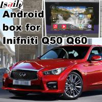 Buy cheap GPS car multimedia interface , Android navigation box interface for Infiniti Q50 / Q60 from Wholesalers