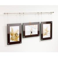 Quality 7mm Acrylic Custom Picture Frames Wall Mounted Hanging For Decoration for sale