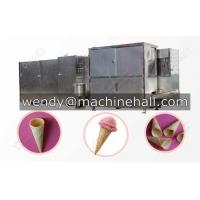 Wholesale full automatic rolled sugar cone machine|ice cream cone production line for cone business manufacturer with best price from china suppliers