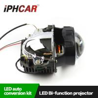 Wholesale IPHCAR Motorcycle Lamp 3 inch Hid Projector Lamp Long life span Led Headlight Free Shipping Car Headlight Lamp from china suppliers