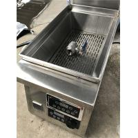 Wholesale Commerical Induction Deep Fryer Deep Fryer Stainless Steel  Fryer 5.5KW from china suppliers