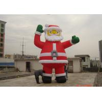 Wholesale Customzied 6M Inflatable Ssanta Claus , PVC Santa Claus Air Balloon For Advertising from china suppliers
