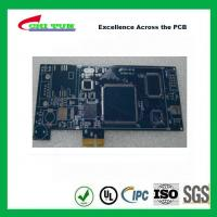 Wholesale Blue Multilayer PCB Board 6l fr4 1.6MM LF HASL + GOLD FINGER from china suppliers