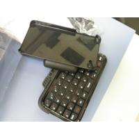 51 Keys Portable Mini Sliding / Slide Qwerty Iphone 4 Bluetooth Keyboard Case with 180mAh for sale