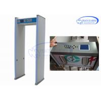China Pinpoint Digital Metal Detector / Exhibition Security Check Body Metal Detectors on sale