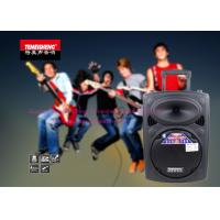 China Outdoor Portable Battery Powered PA Speaker 10 Inch Remote Control on sale